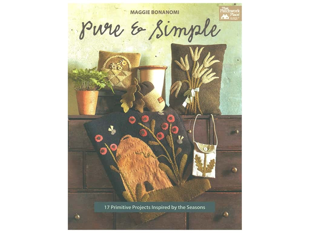 That Patchwork Place Pure & Simple Book