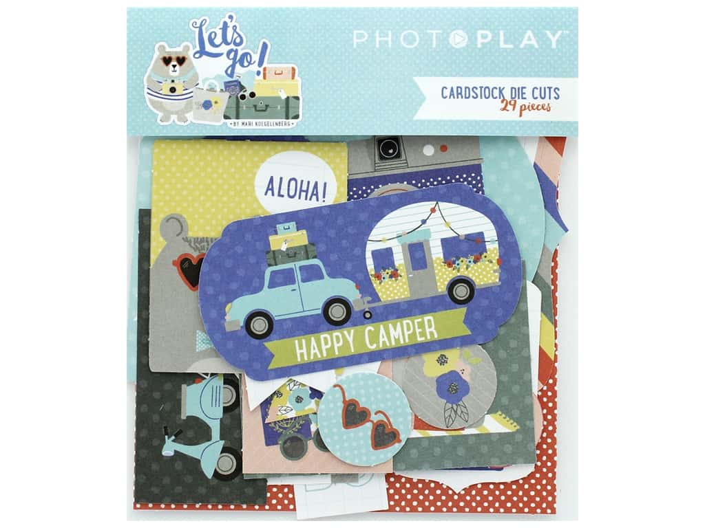 Photo Play Collection Lets Go Die Cut Pack