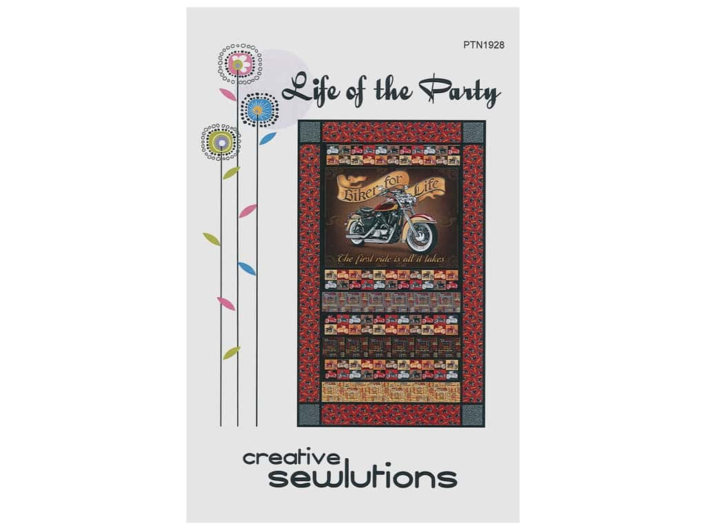 Creative Sewlutions Life Of The Party Pattern
