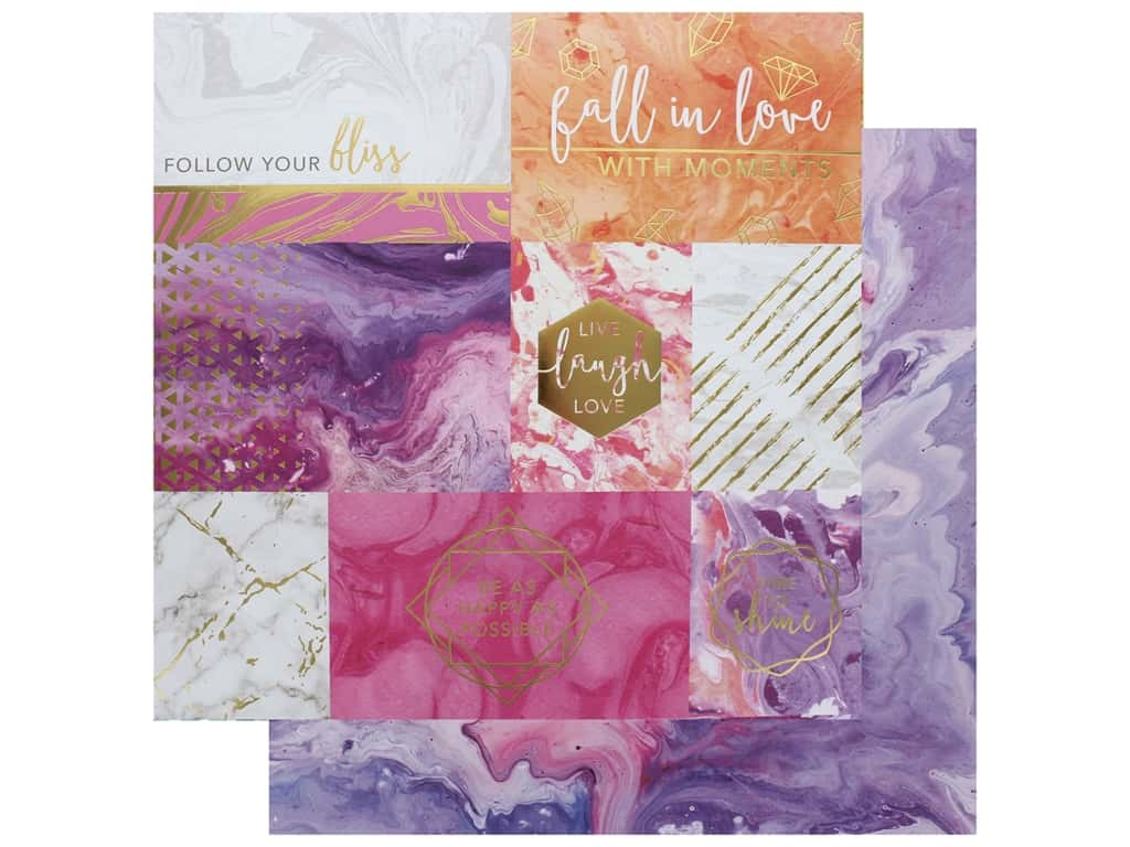 Paper House Paper 12 in. x 12 in. Follow Your Bliss (15 pieces)