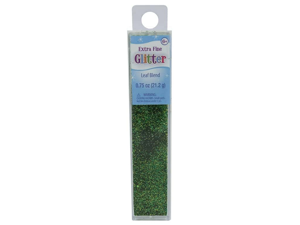 Sulyn Glitter Extra Fine .75 oz Leaf Blend
