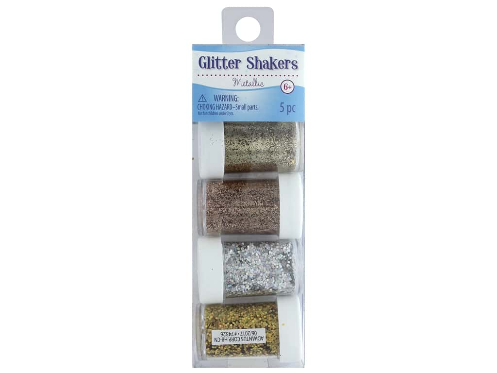 Sulyn Glitter Shakers Metallic 5 pc
