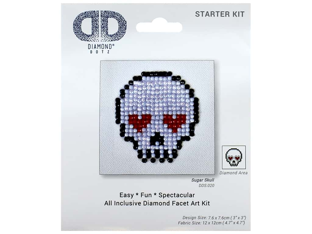 Diamond Dotz Starter Kit - Sugar Skull