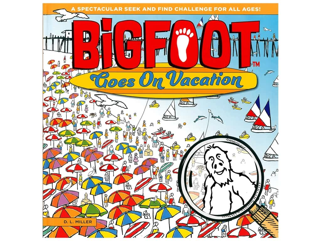Happy Fox Books BigFoot Goes on Vacation Book