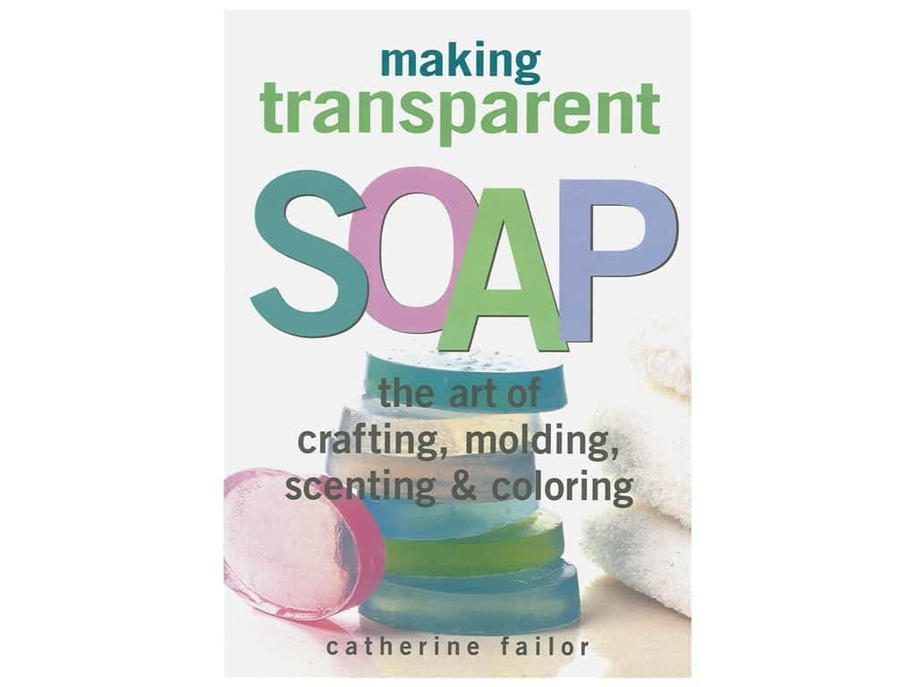 Making Transparent Soap Book