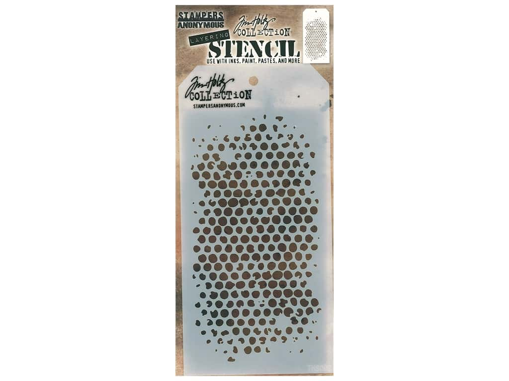 Stampers Anonymous Tim Holtz Layering Stencil - Bubble