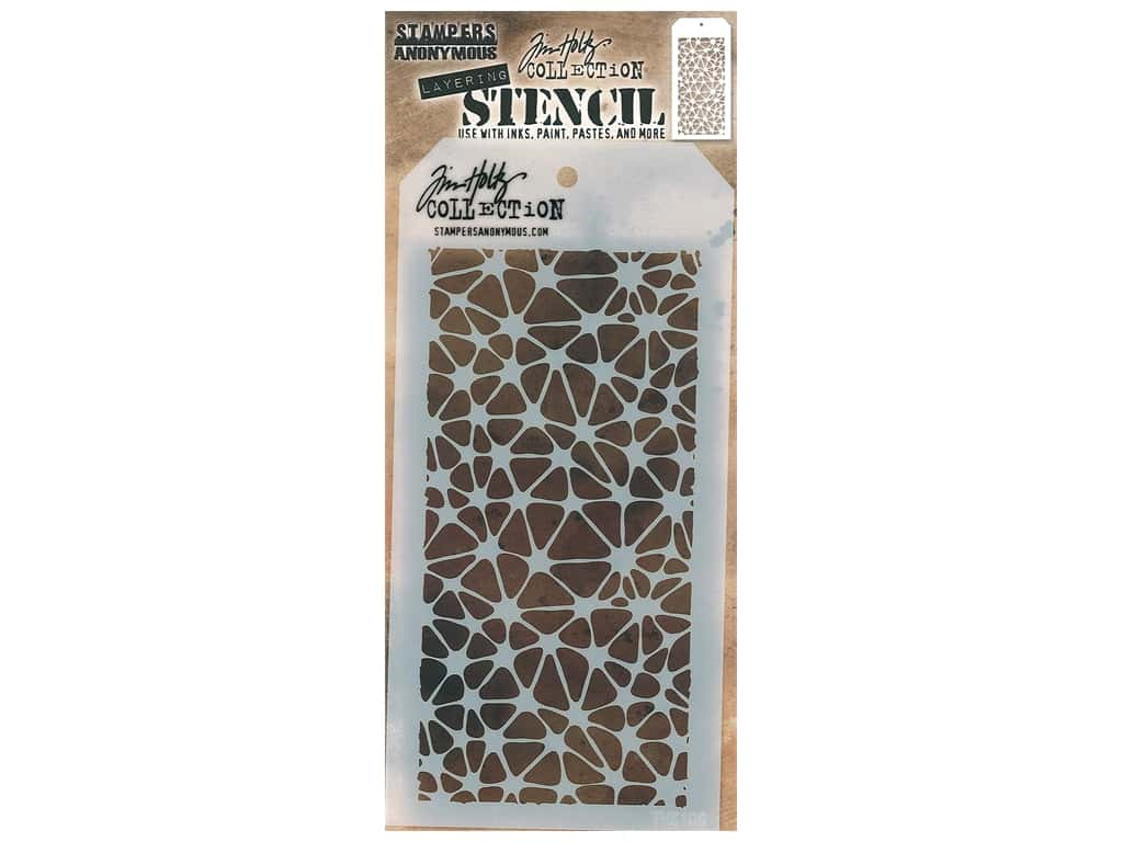 Stampers Anonymous Tim Holtz Layering Stencil - Organic