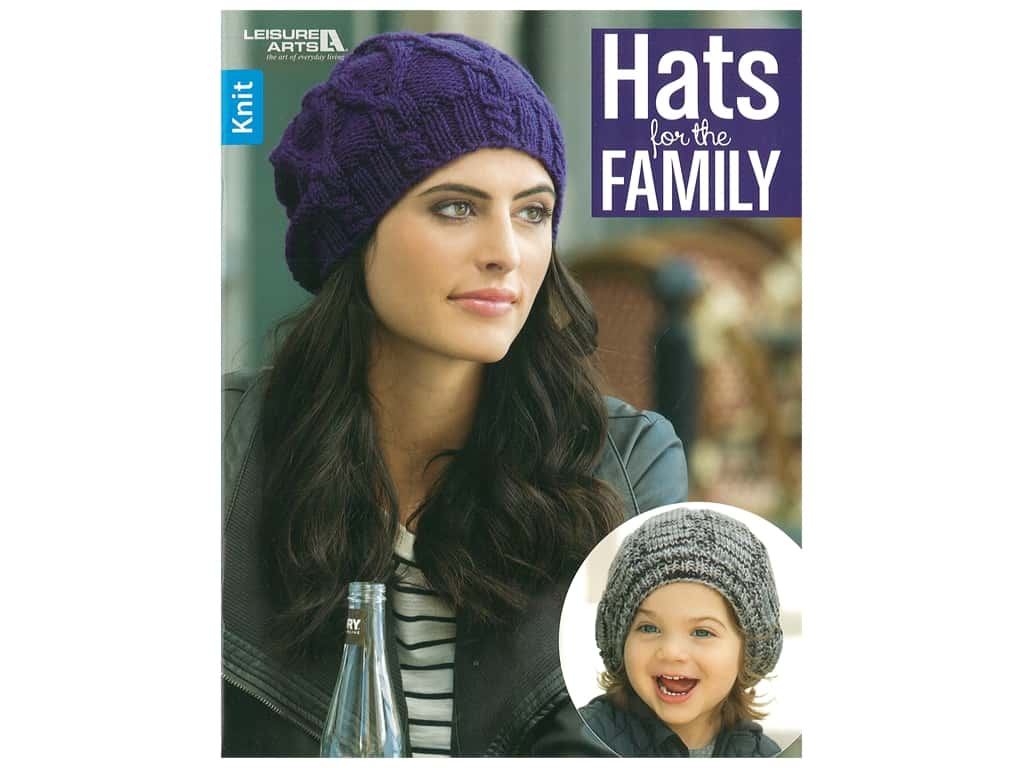 Leisure Arts Hats For The Family Book