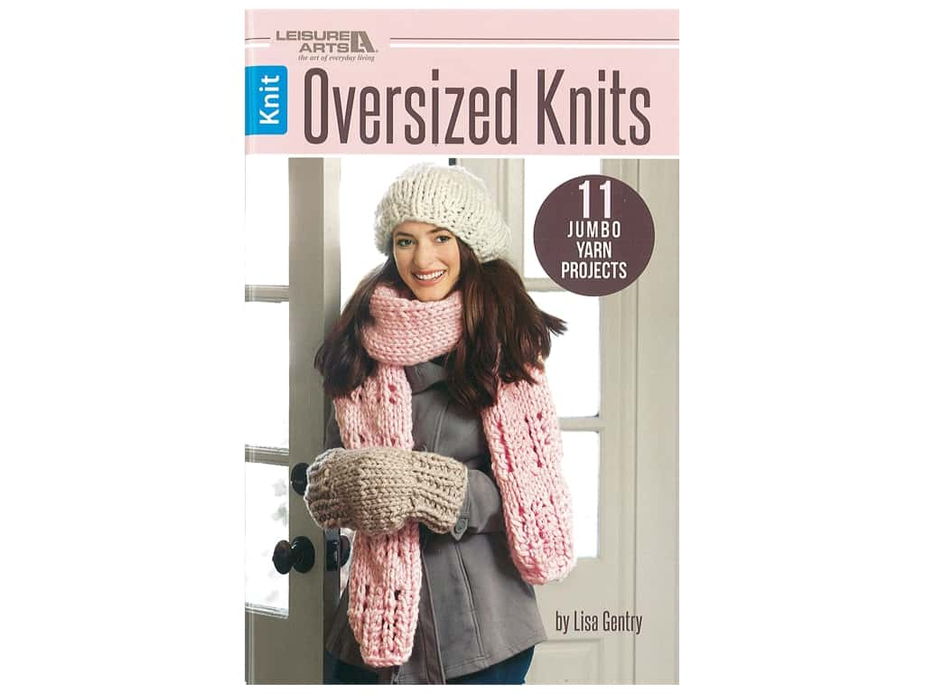 Leisure Arts Oversized Knits Book