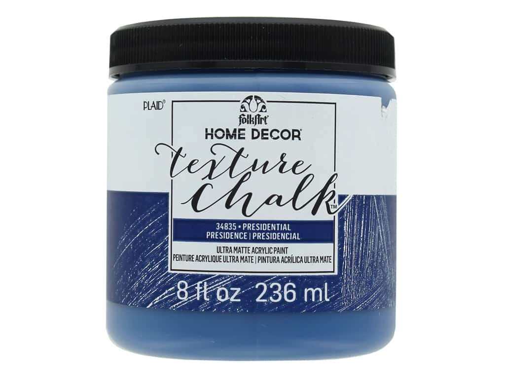 FolkArt Home Decor Texture Chalk 8 oz. Presidential