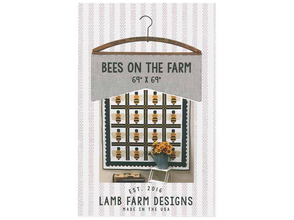 Lamb Farm Designs Bees On The Farm Pattern