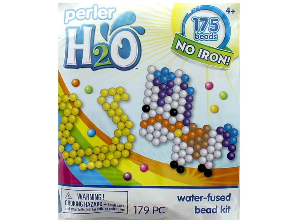 Perler H2O Water Fused Bead Kit Trial Pony & Horseshoe
