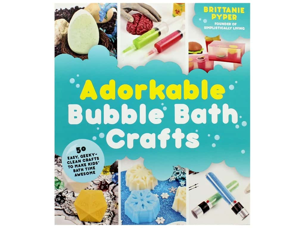 Page Street Publishing Adorkable Bubble Bath Crafts Book