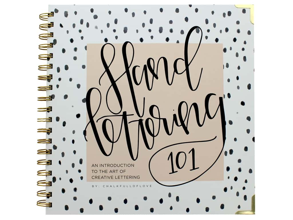 Blue Star Press Hand Lettering 101 Book