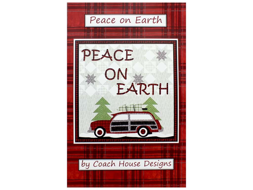 Coach House Designs Peace On Earth Pattern