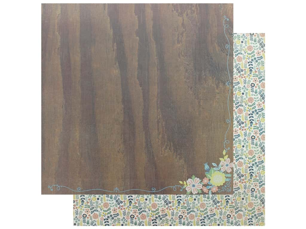 """Authentique Collection Meadow Paper 12""""x 12"""" Three (25 pieces)"""