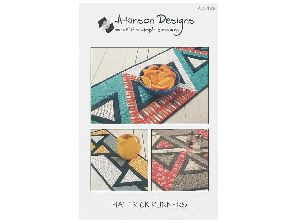 Atkinson Designs Hat Trick Runners Pattern