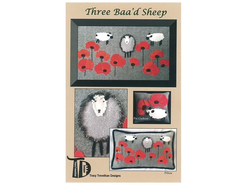 Tracy Trevethan Designs Three Baa'd Sheep Pattern