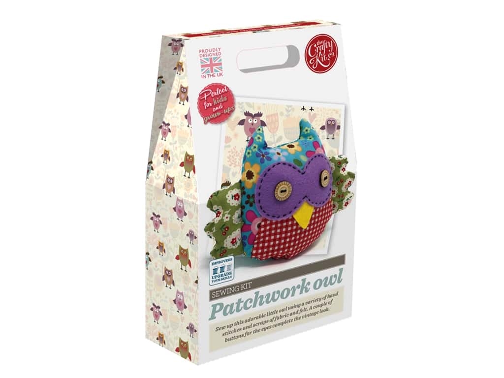 Crafty Kit Company Kit Sewing Patchwork Owl