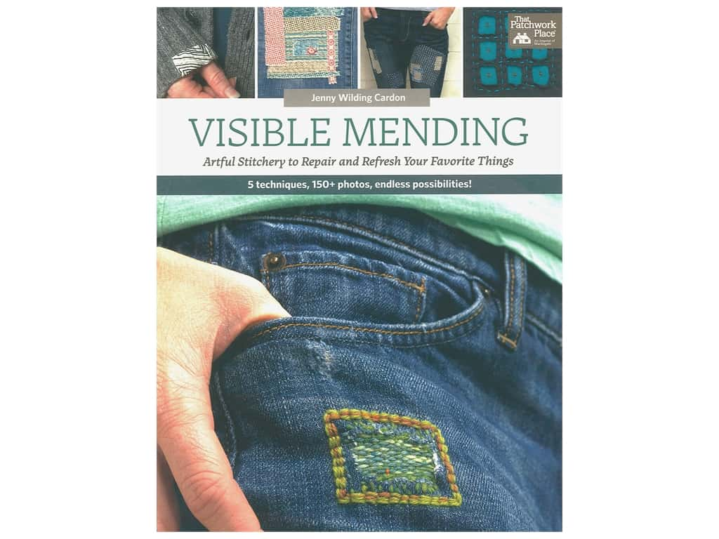 That Patchwork Place Books Visible Mending Book