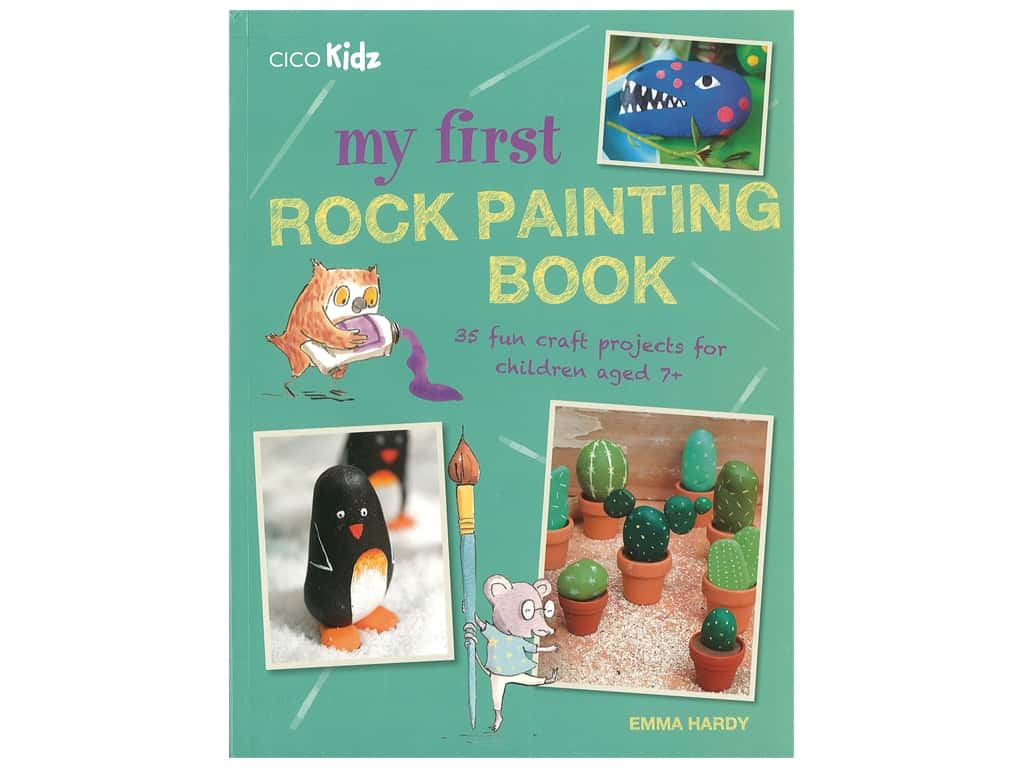 Cico My First Rock Painting Book