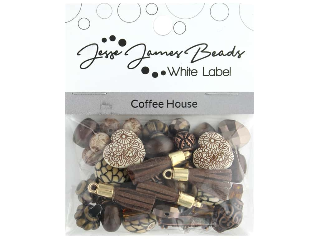 Jesse James Bead White Label Design Element Coffee House