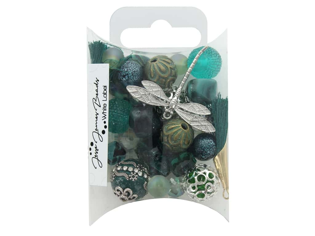Jesse James Bead White Label Inspiration Teal Me About It