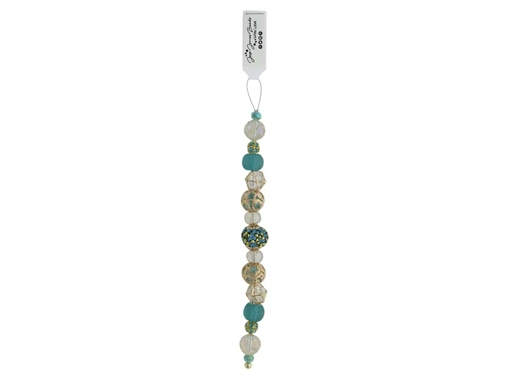 Jesse James Bead White Label Strand Lets Be Mermaids