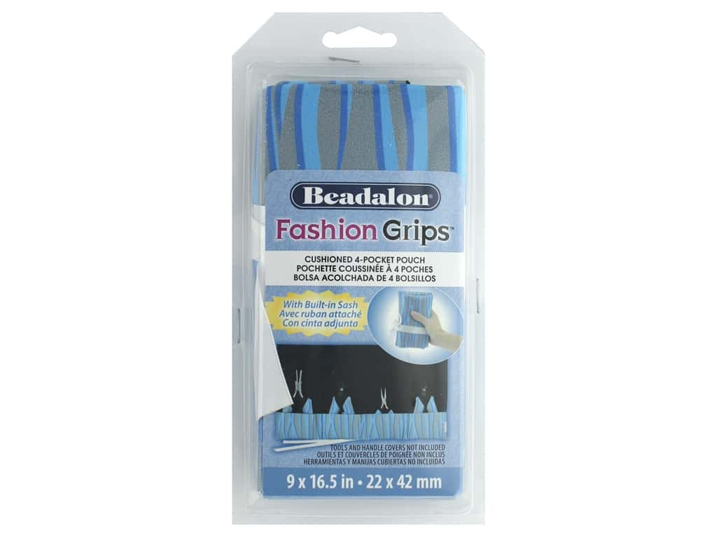 Beadalon Fashion Grips Bag Tiger Blue