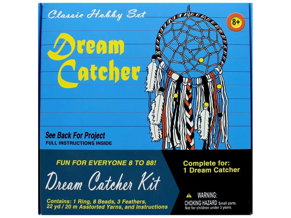 Pepperell Kit Classic Hobby Dream Catcher