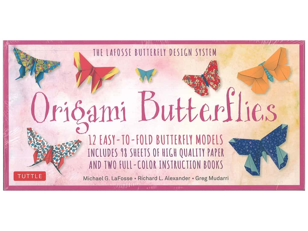 Tuttle Publishing Origami Butterflies Kit And Book