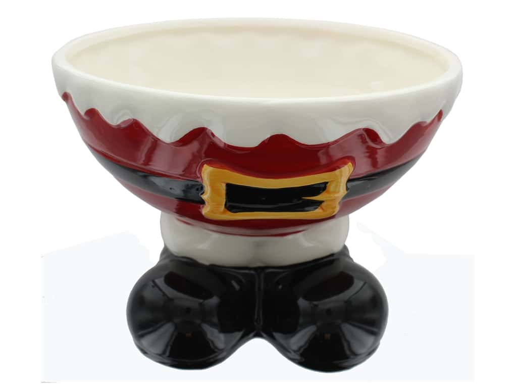 Darice Santa Feet Bowl (4 pieces)