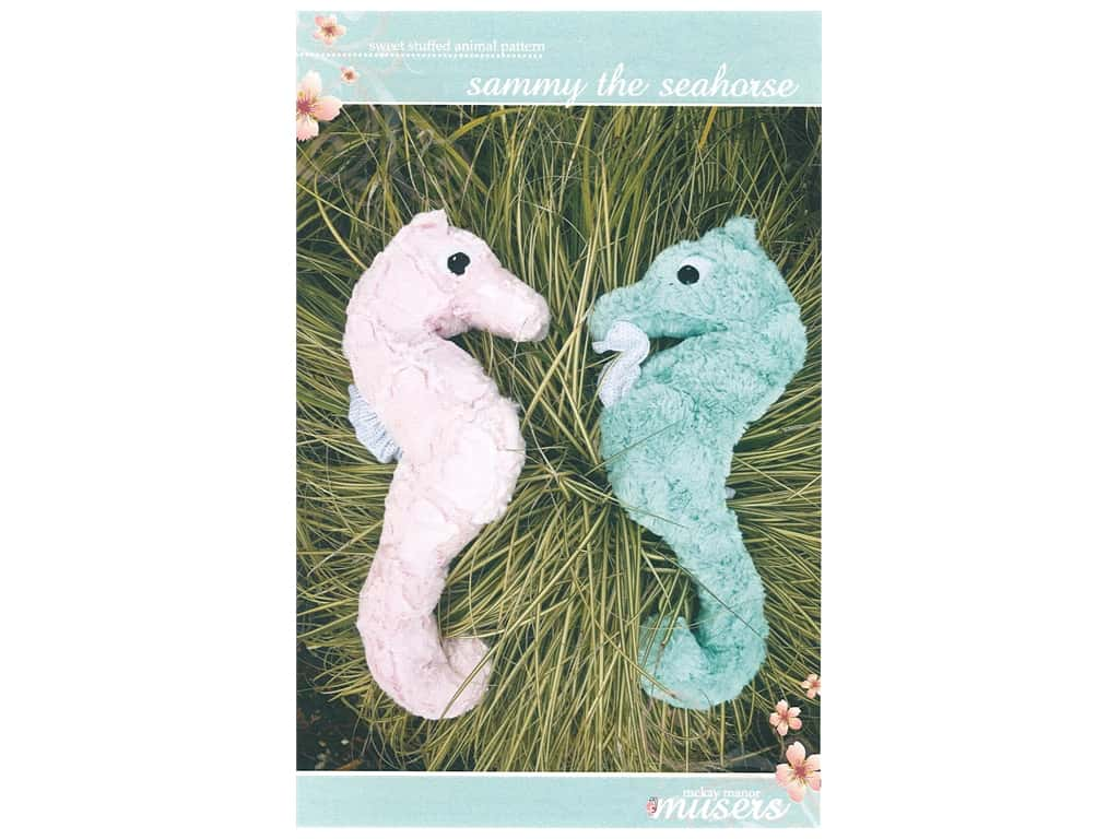 Mckay Manor Musers Sammy The Seahorse Pattern