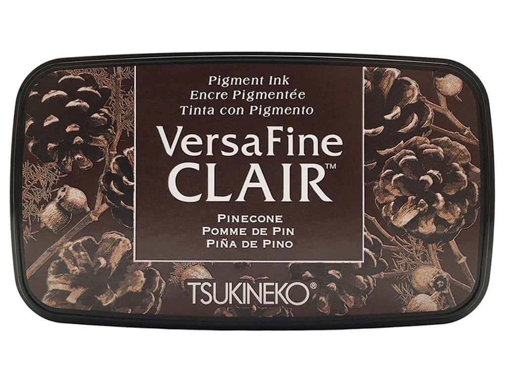 Tsukineko VersaFine Clair Ink Pad Pinecone
