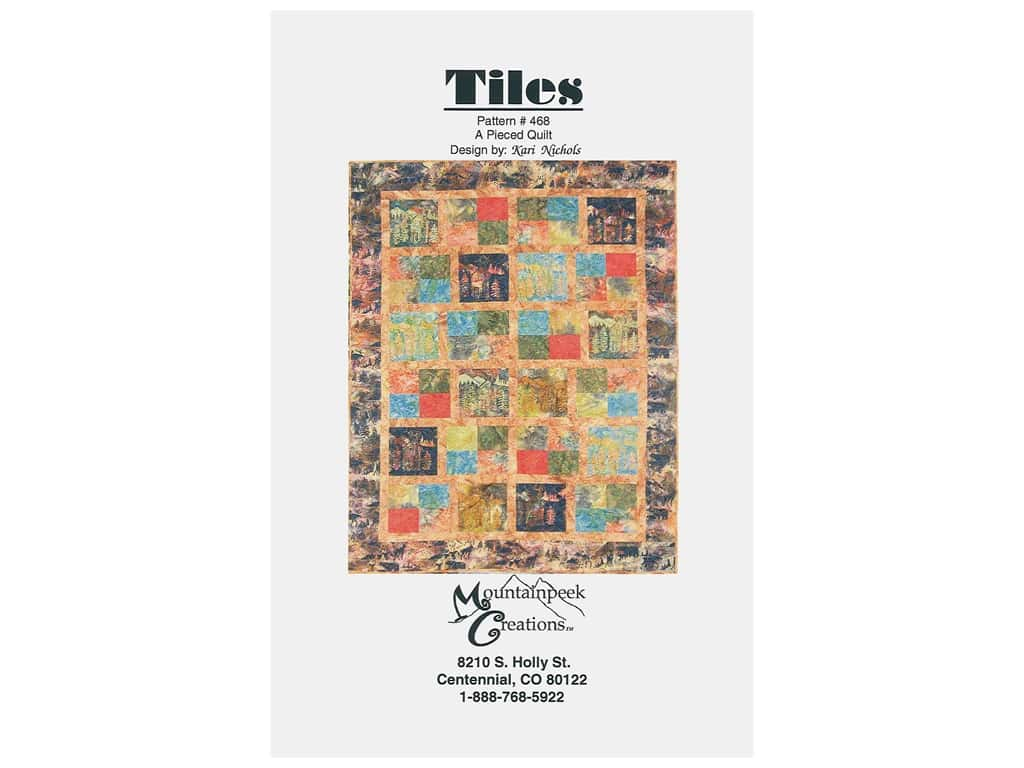 Mountainpeek Creations Tiles Pattern