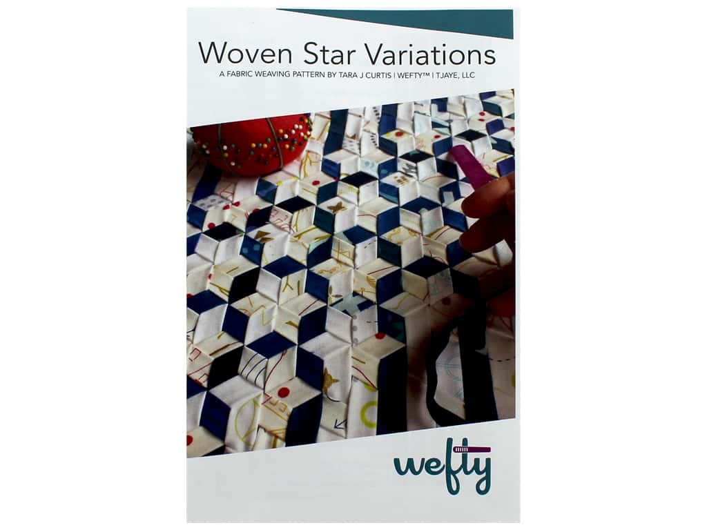 Wefty Woven Star Variations Pattern