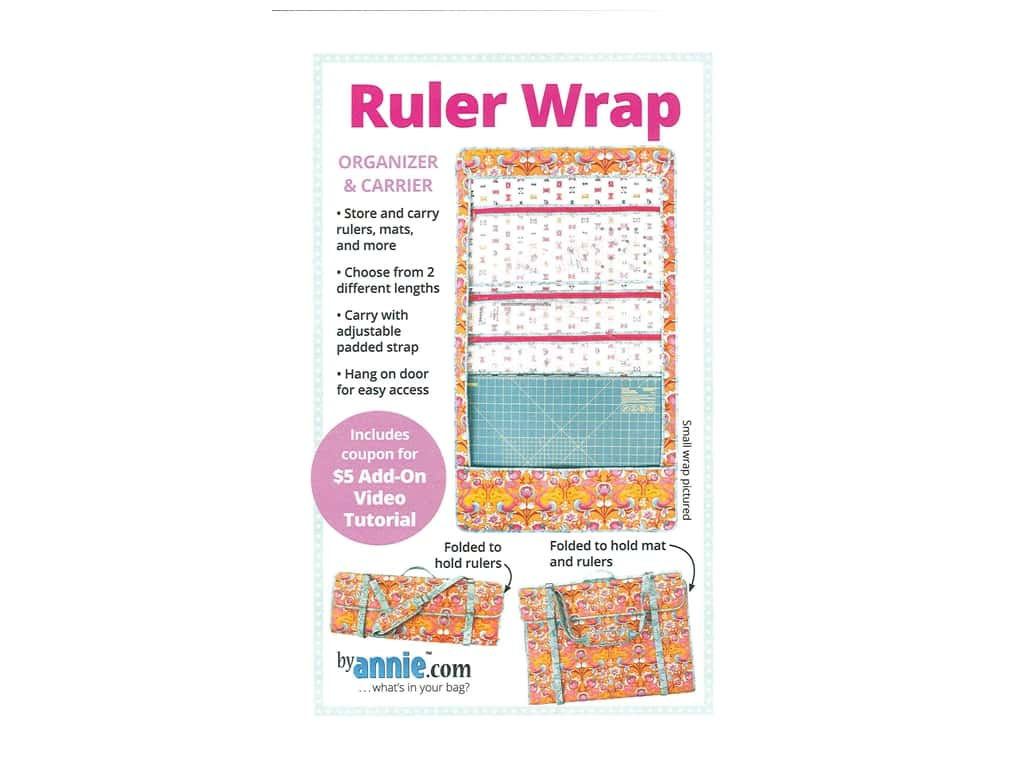 By Annie Ruler Wrap Pattern