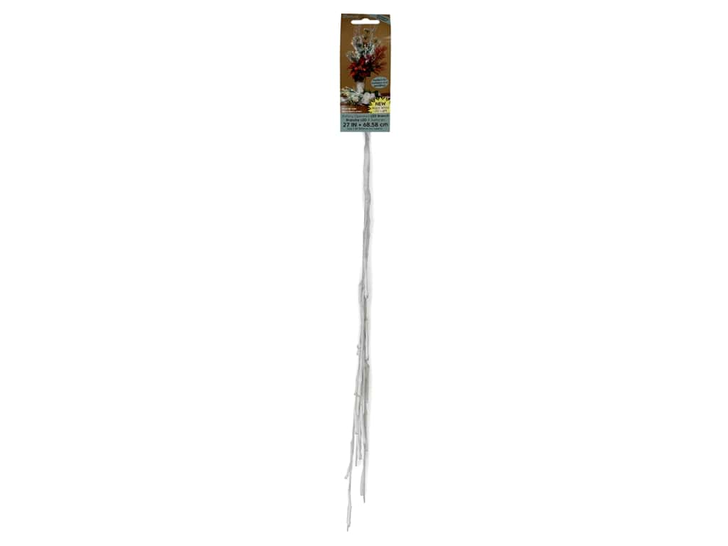 Darice Branch LED Battery Operated 27 in. White