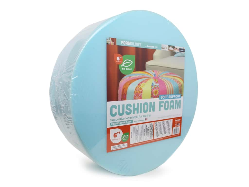 Fairfield Cushion Foam Tuffet 18 in. x 6 in. Round