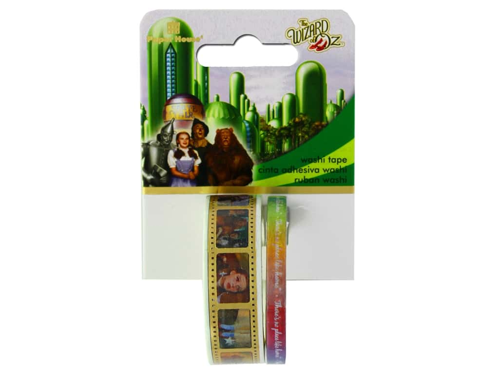 Paper House Washi Tape Wizard Of Oz
