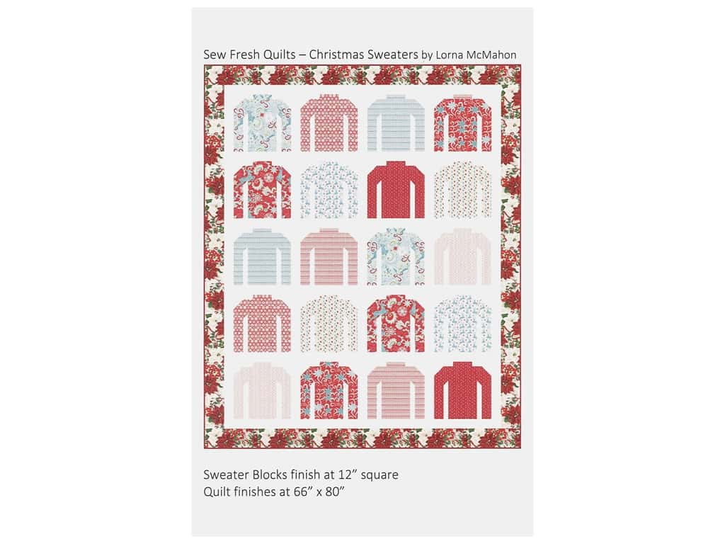 Sew Fresh Quilts Christmas Sweaters Pattern