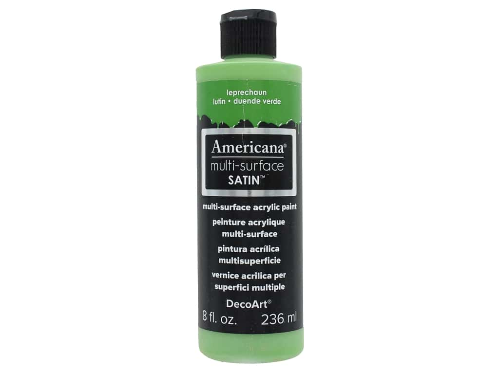 DecoArt Americana Multi-Surface Satin 8 oz. #519 Leprechaun
