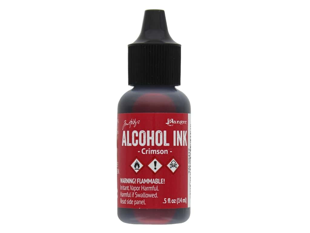 Ranger Tim Holtz Alcohol Ink .5 oz Crimson