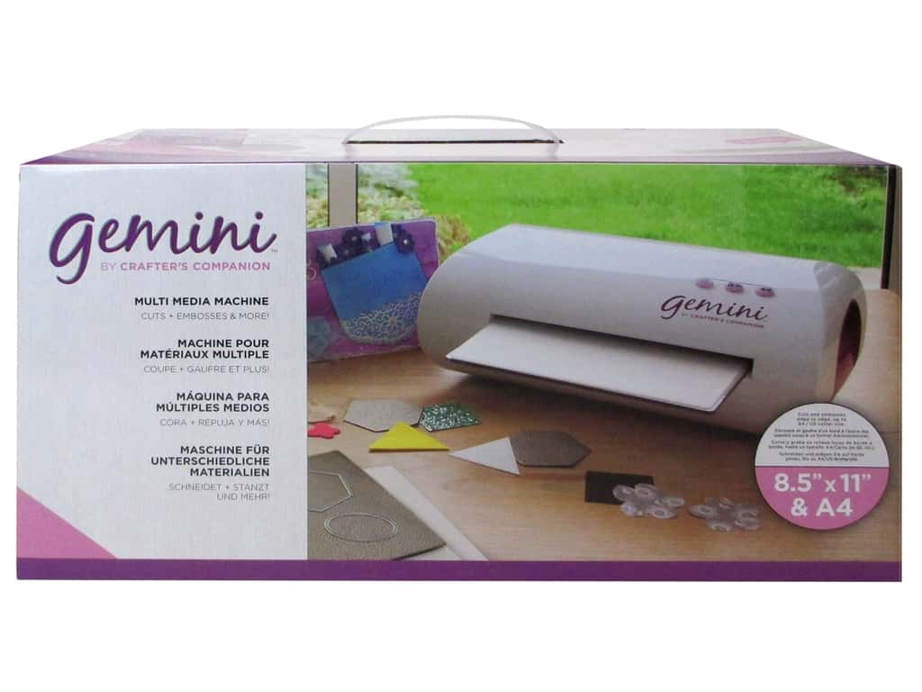 Crafter's Companion Gemini Cut & Emboss Machine