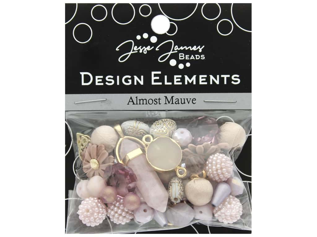 Jesse James Bead Design Element Almost Mauve
