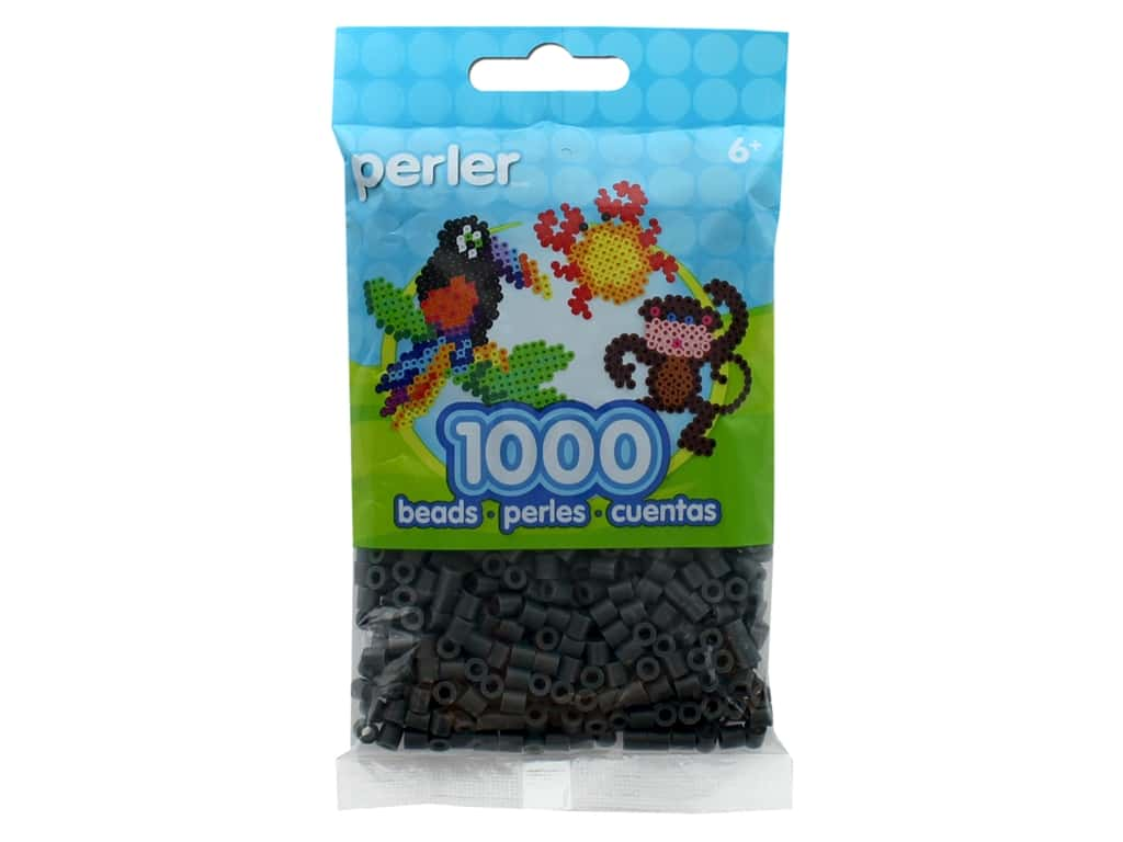Perler Beads 1000 pc. Charcoal