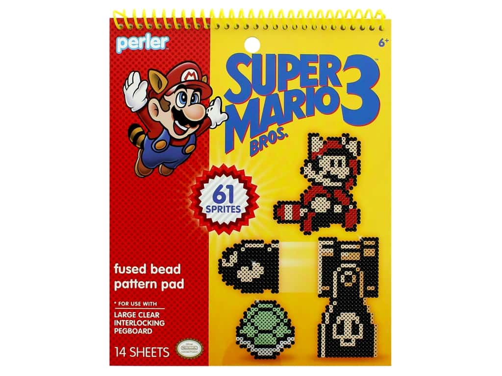Perler Fused Bead Pattern Pad Super Mario Brothers 3