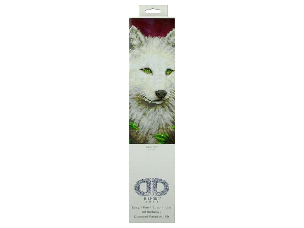 Diamond Dotz Intermediate Kit - White Wolf