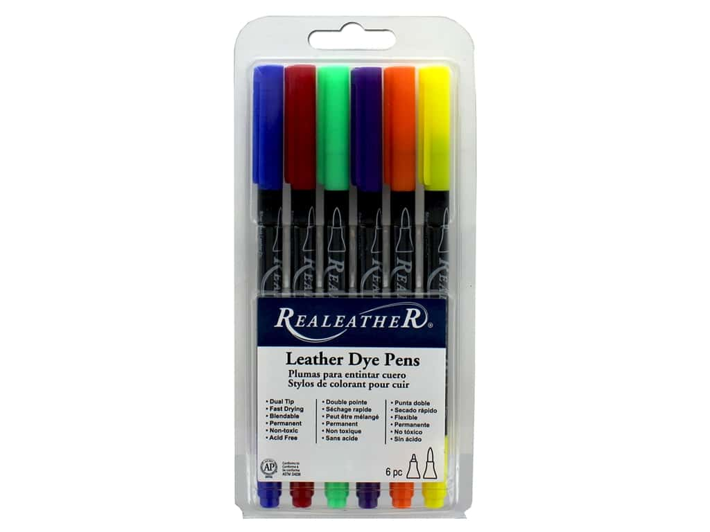 REALEATHER by Silver Creek Tool Markers Landscape 6 pc