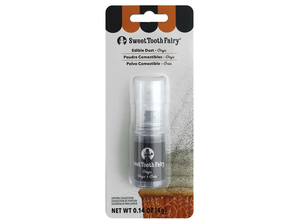 American Crafts Collection Sweet Tooth Fairy Luster Dust Pump .14 oz Onyx